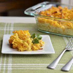 Virtually Homemade: Gluten Free Macaroni and Cheese with Crisp Bacon