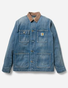 Carhartt Michigan Coat - Denim Rinsed
