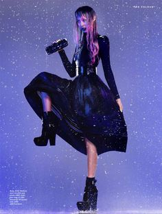 John-Paul Pietrus Captures Purple Rain for Stylist Magazine A/W 2012