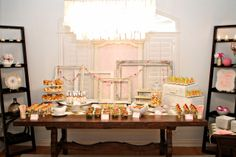 Brunch Buffet | Baby Girl Vintage Tea Party Baby Shower