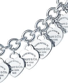Let her wear your heart on her sleeve with a charm bracelet from the Return to Tiffany® collection.