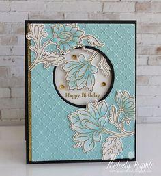 Beautiful Birthday Wishes with Altenew Stamp Set, Persian Motifs