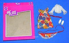 Vintage BarbieTutti European KINDERGEBURTSTAG Child's Birthday #7481 w/ BOX - missing!