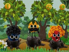 Berry Forest | iPad iPhone Kinder Apps