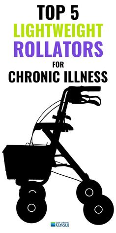 Staying mobile when you have a chronic illness can be tricky, but help is at hand with this best of lightweight rollators for chronic illness. Chronic Fatigue Causes, Chronic Fatigue Syndrome, Adrenal Fatigue, Chronic Illness, Chronic Pain, Fibromyalgia, Euro, Autoimmune Disease, Lyme Disease