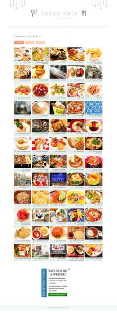 TokyoEats.jp -- a very good guide to restaurants & bakeries in Tokyo