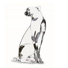 #Guepard #Baccarat =>www.vessiere-cristaux.fr/categorie-produit/cristal-baccarat/