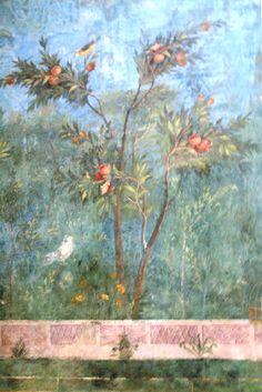 Fresco Museo Nazionale di Romano  © Lora Koretz