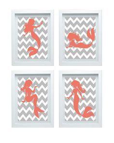 free bathroom art printables mermaid - Google Search
