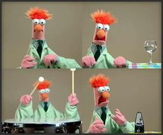Beaker (Muppet's) performing Beethoven's Ode to Joy - Funny!