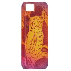 iPhone Owl Case Airbrushed Original iPhone 5 Covers