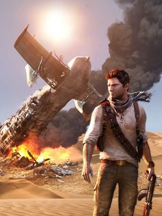 Uncharted 3: Drake's Deception shows Naughty Dog's matured much like myself from the family friendly Crash Bandicoot series to the gripping action packed Uncharted series, like puberty but with games.