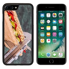 MSD Premium Apple iPhone 7 Plus Aluminum Backplate Bumper Snap Case Diet Calorie Counter Weight Loss Image 695723 *** For more information, visit image link.