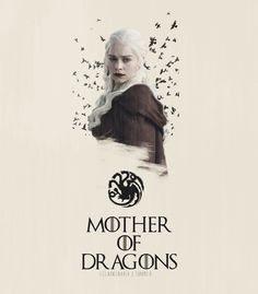 Daenerys Targaryen ~ Mother of Dragons ~ Game of Thrones Fan Art