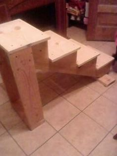 My steps to the kids' trampoline. First time making, not too shabby :) Trampoline Steps, Trampoline Ladder, Best Trampoline, Pool Ladder, Backyard Trampoline, Backyard Farming, Backyard Projects, Outdoor Projects, Home Projects