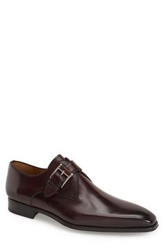 Magnanni 'Hugo' Monk Strap Slip-On (Men) available at #Nordstrom