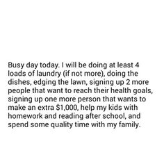 Busy busy busy ;)
