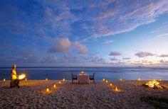 #slub i kolacja na plaży. #slubnawyspie Fregate Island