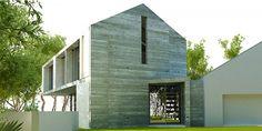 Creative Modern Barn Design Plan into Modern House: Stunning Raw Concrete Modern Barn In South Africa Exterior Design ~ SQUAR ESTATE Architecture Inspiration