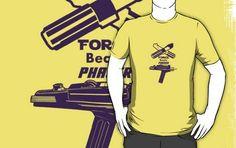 Force beats Phaser tees shirts