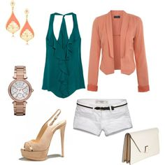 """LOVE IT!!! <3 """"Summer Casual Date"""" by vearons on Polyvore"""