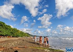 """Costa Rica is a country that deserves its name meaning """"rich coast."""" This country has the perfect location for beach lovers around the world. With over 1,000 miles along the Pacific and Gulf Coasts, Costa Rica offers every type of beach imaginable from white sands, to black sands, to rocky beaches."""