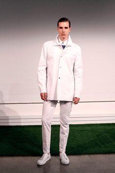 Carlos Campos coleccion primavera verano 2014 New York Fashion Week Gq, Coat, Jackets, Fashion, Fields, New York City, Spring Summer, Down Jackets, Moda
