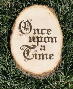 Once Upon a Time Wood Slice Art Nursery Wall Art Photo Wood Burning Crafts, Wood Burning Patterns, Wood Burning Art, Wood Wall Nursery, Nursery Art, Tree Stencil, Wood Home Decor, Wall Decor, Wooden Cutouts