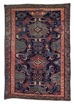 an Alpan Kuba, East Caucasus, 169 x 115 cm, second half 19th century, Antique tribal rugs at Rippon Boswell 30 November