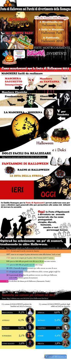Festa di Halloween nei Parchi di divertimento della Romagna  http://www.abcvacanze.it/infografica-halloween.htm   #infografica     #infografiche     #infographic     #infographics        #halloween