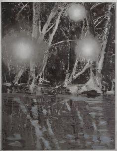 Uwe Wittwer (Swiss, b. 1954), Copse, 2011. Oil on canvas, 150 × 195 cm.
