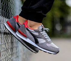 Diadora Camaro - Grey / Black