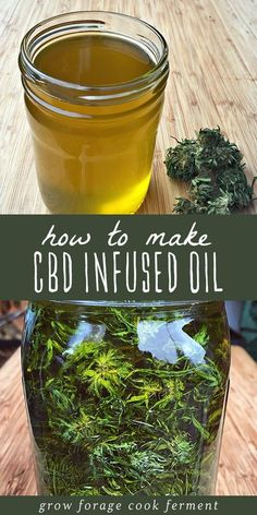 CBD oil is a healing topical home remedy with many all natural and medicinal uses! Learn how to make cannabis CBD infused oil at home with this easy recipe for beginning herbalists. CBD oil has many benefits and medicinal uses, the most popular being for Holistic Remedies, Natural Home Remedies, Natural Healing, Herbal Remedies, Health Remedies, Natural Oil, Natural Foods, Cold Remedies, Holistic Healing