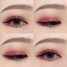 Simple Color Eye Makeup Idea