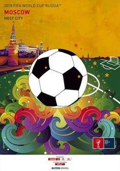 La FIFA presenta los carteles oficiales de las sedes del Mundial de Rusia 2018