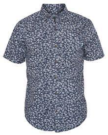 • Regular Fit  • 100% Cotton Printed Poplin.  • Hobie Flag label at Pocket, Faux horn buttons. ...