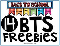 The Bender Bunch: 14 BTS FREEBIES & GIVEAWAY!!