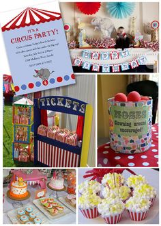 circus party ideas - Google Search