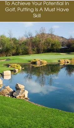 Golf Score, Golf Putting Tips, Training Pads, Golf Tour, In The Hole, Putt Putt, Play Golf, Golf Courses