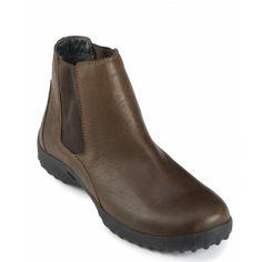 Cape Union Men's comfortable leather ankle leisure boot.