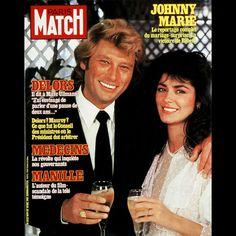 Marnes La Coquette, Johnny Halliday, Paris Match, Vintage Magazines, French Vintage, Actresses, Actors, Portrait, Boss