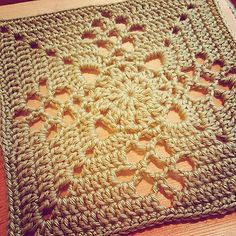 Ravelry: Victorian Lattice Square pattern by Destany Wymore | free pattern download