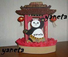MuyAmeno.com: Fiestas Infantiles, Decoración Kung Fu Panda, Centros de Mesa