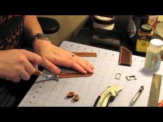 Gorilla Leather - Making a Watch Strap - YouTube