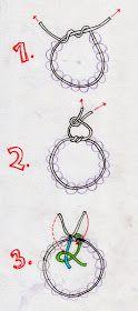 Pandraa Art Studio Blog: Self Care Friday-Knotting a stretch bracelet