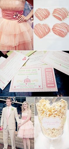 pink wedding inspiration board!