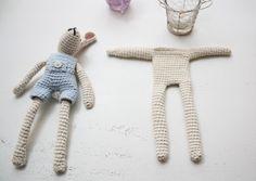 bunny crochet pattern part II (german)