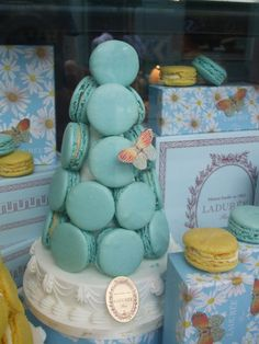 Ladurée Macarons - I love when my friend, Katie, brings me these!