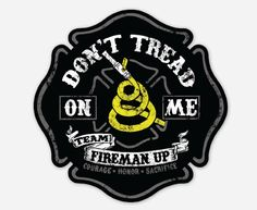 Don't Tread on Me Fireman Up! You will receive Don't Tread on Me Don't Tread on me Fireman UP Helmet stickers. Each sticker is made of vinyl - fade resistant, water resistant. Shipping is included in the price. Firefighter Drawing, Firefighter Toys, Firefighter Stickers, Firefighter Apparel, Firefighters Wife, Firemen, Fire Dept, Fire Department, Iphone Lockscreen Wallpaper
