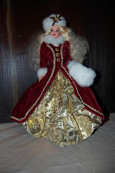 Image Detail for - Happy Holiday Barbie Doll 1996 | My Barbie Dolls